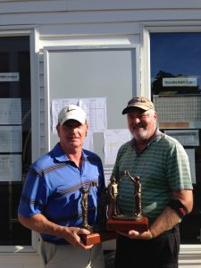 2016 Berwick Invitational Senior Division Champions Bill Coiley and Carl Benjamin