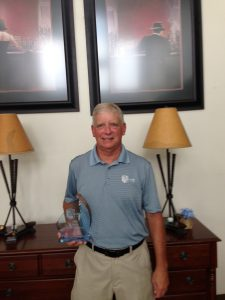 Richard Brewington:  2016 Senior Club Champion