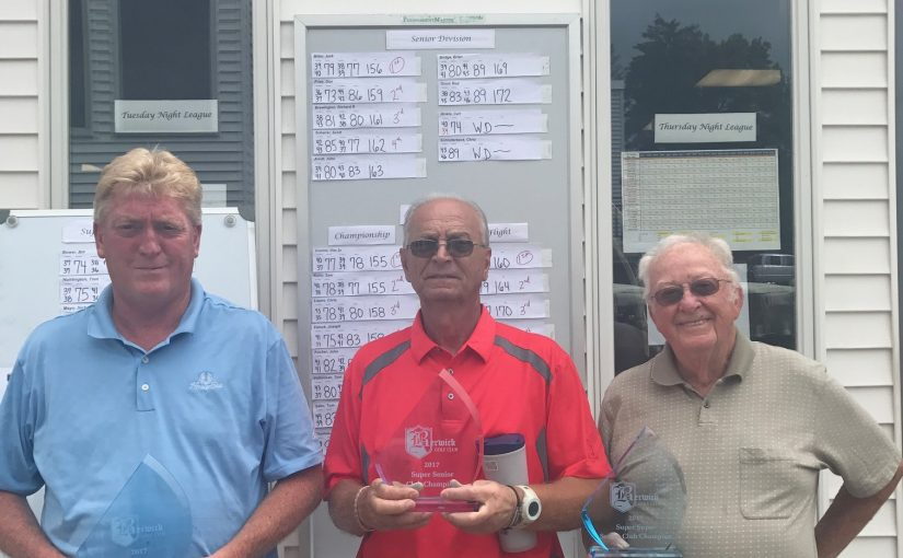 2017 Senior Club Championship Results!