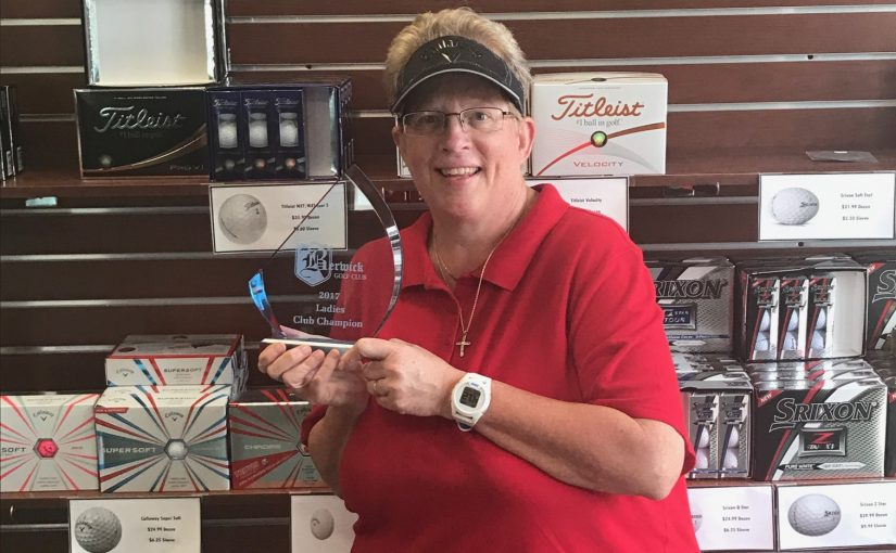 Schlotterbeck wins Ladies Club Championship!