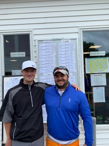 2019 Member-Guest Champions: Tom Cicini (right) and Devin McLaughlin