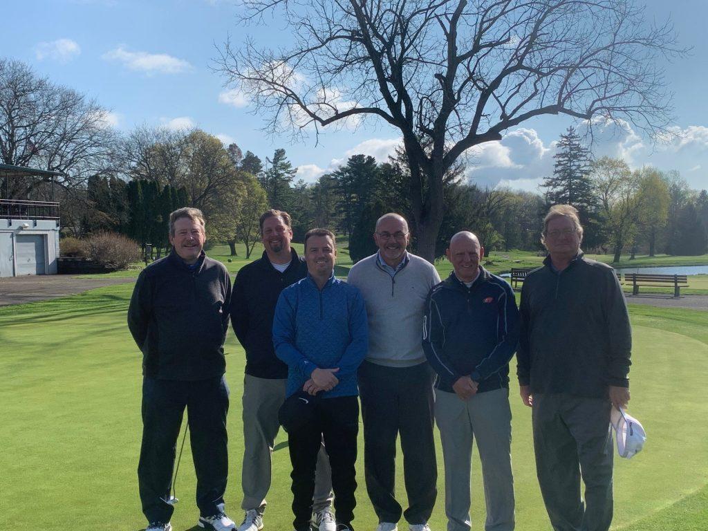 Berwick Home Team 4-18-21 From left to right: Kerry Maurer, Phil Geiser, Chris Banyas, Carl Stackhouse, Scott Scheirer and Tom Gray