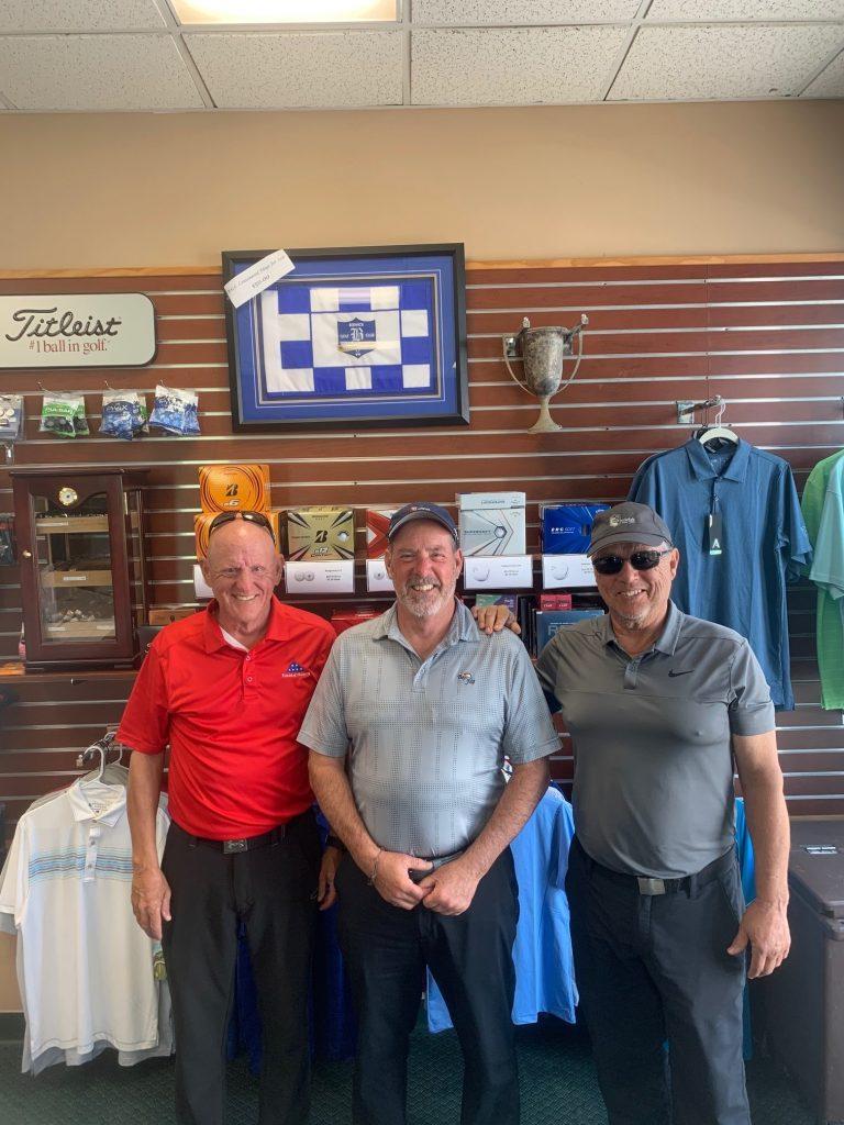 Heroes Tournament Champions:  Pictured left to right- Scott Scheirer, Jeff Helsel, Joe Nespoli (not pictured Joe Marsicano)